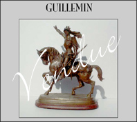 Sculpture Cavalier Guillemin