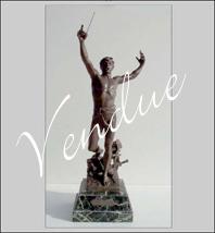 """Sculpture """" La VOIX """""""